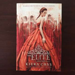 THE ELITE by Kiera Cass (Paperback)