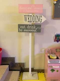 Wedding Directional Arrow