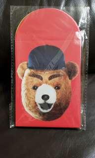 全新 元氣壽司 Genki 熊店長 特色利是封一包 (共5款)