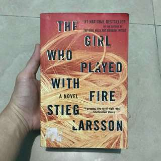 The Girl Who Played With Fire (Stieg Larsson)