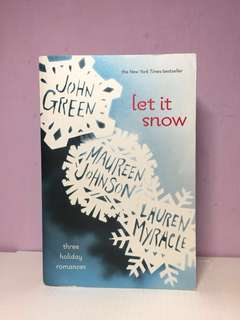 Let It Snow written by multiple authors