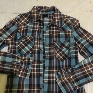 Checkered Longsleeves/Flannel