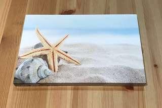Beach themed canvas - Morgan & Finch (by Bed Bath n Table)