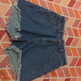 HIGH WAIST MAONG SHORTS