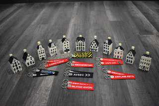 Aviation keychain for sale Airbus boeing