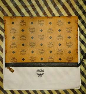 [New]MCM Zip Pouch in Visetos Original