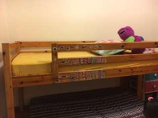 Bunk bed $75 without Matress , with Matress $100