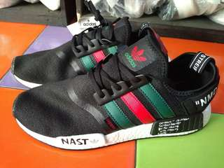 Sepatu Adidas NMD XR-1 Gucci OFFWHITE Black