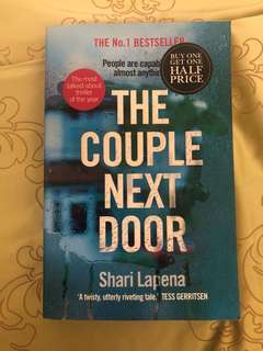 🚚 The couple next door by shari lapena