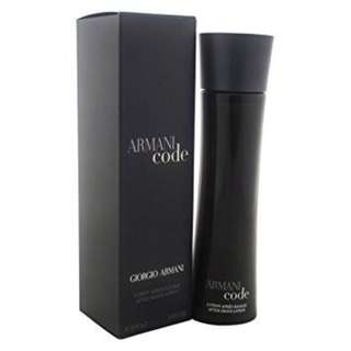 Armani Code After shaving lotion