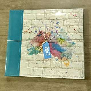P&O photo journaling kit & photo album - South Pacific edition