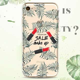 Make up Iphone 5 5s 6 6s 6plus 7 8 plus case