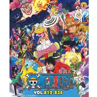 One Piece Box 25 Vol.812-835 海贼王 Anime DVD