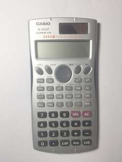 Casio Calculator 計算機