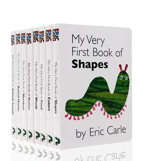 My Very First Book by Eric Carle (8 books)