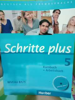 German Language Book Schritte 5