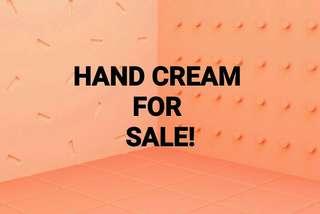 HAND CREAM FOR SALE!