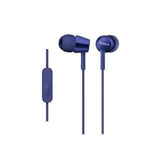 Sony Earphone MDR-EX155APLIQE (BNIB)