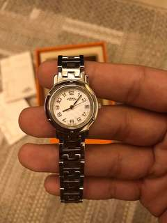 Authentic Hermes watch fit to small wrist