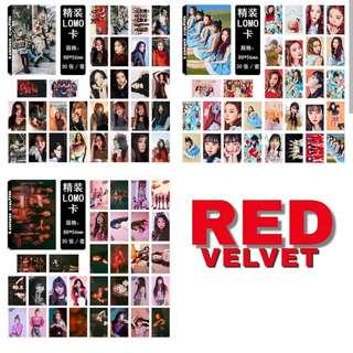 Preorder - RED VELVET Lomocard *30 PCS* exc.pos