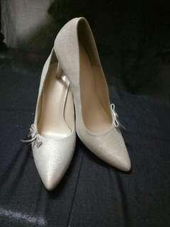 Glittered Wedding Shoes