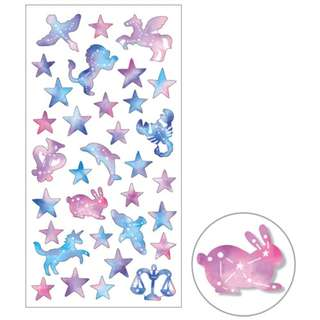 Mind Wave - Washi Masking Seals/Stickers (Galaxy Constellation)