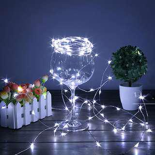 LED light Copper Wire String LED Light 2M 20 LED