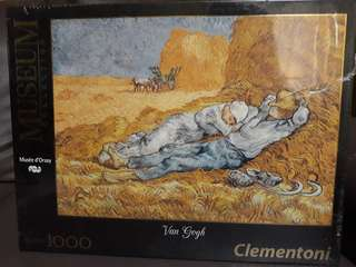 Museum Collection 1000 Pc Puzzle - Musee D'Orsay 'La Siesta' Van Gogh