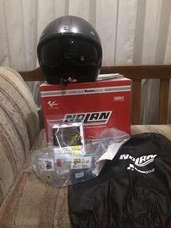 Nolan N21 Speed Junkies Helmet scooter vespa caferacer harley davidson vintage helmet