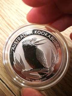 Silver kookaburra 2012
