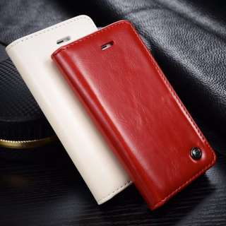 IPhone 5, 5s and SE Luxurious Leather Case w/ Flip Cover