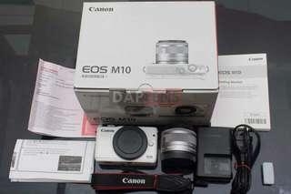 Canon M10 Bisa Di Cicil Gratis 1X Angsuran DP Murah