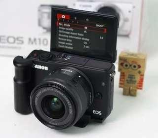 Canon M10 Black Bisa Di Cicil Tanpa Kartu Kredit
