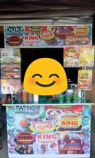 Foodcart with equipments for sale