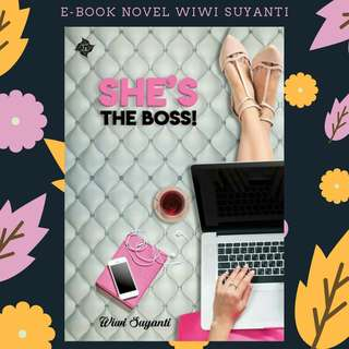 PREMIUM : EBOOK PDF NOVEL SHE'S THE BOSS!