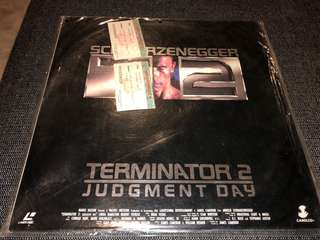 Laserdisc- Terminator 2 Judgement Day