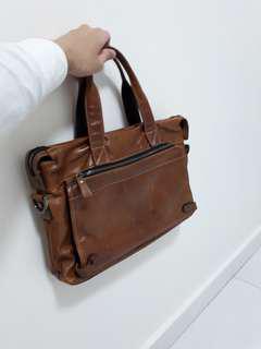 Formal men's bag men bag leather hand carry