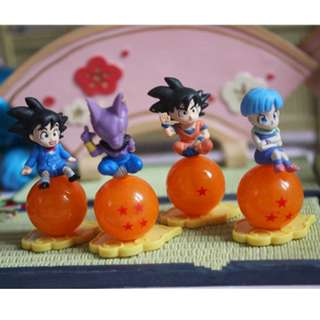 Dragon Ball Set Of 4