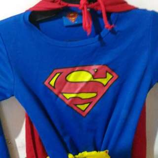 Superman Costume Size 3 1 To 4yrs Old Guc 130