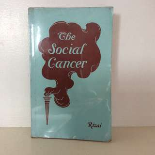 The Social Cancer by Jose Rizal