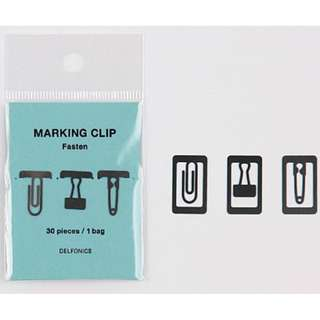 Delfonics - Metal Paper Clips (Stationery Design)