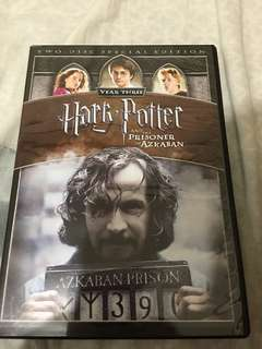 Harry Potter and the Prisoner of Azkaban DVD ORIGINAL