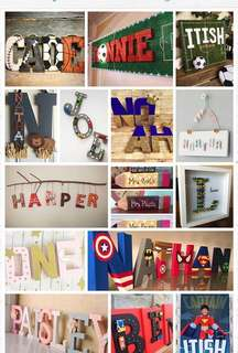 Customised Name plate / name plaques / sign boards / room plate / birthday gift / birthday boy / birthday girl / baby gift / return gift
