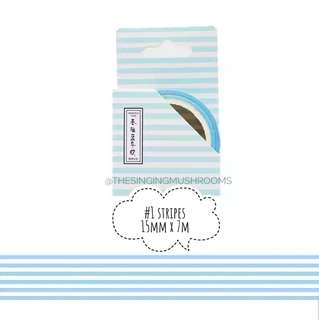 [T](#1-#3)Blue series washi tape