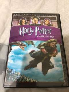 Harry Potter and the Goblet of Fire DVD ORIGINAL