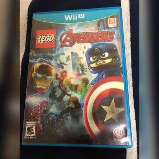 🚚 LEGO Marvel Avengers Wii U Nintendo Game