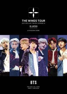 [UPCOMING STOCK] BTS WINGS TOUR DVD JAPAN EDITION