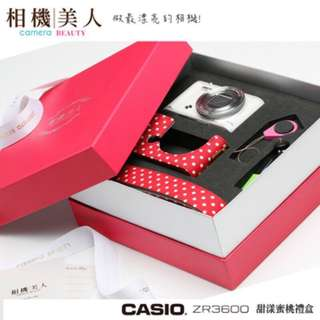 🚚 保卡未填日期 ZR3600 白色 大全配禮盒版 公司貨 保固18個月