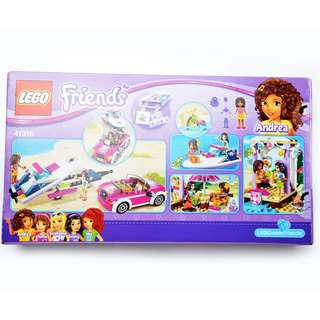 **NEW** Lego Friends Andrea's Speedboat Transporter 41316 toy Building Kit