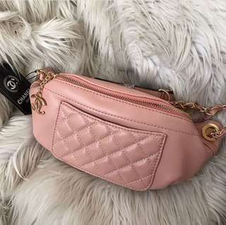 Tas chanel waist bag nagita